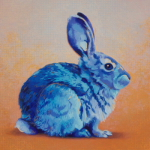 Blue Bunny by Andrew Denman