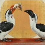 Hornbills by Andrew Denman