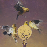 Goldfinches by Andrew Denman