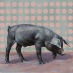 Black Piglet by Andrew Denman
