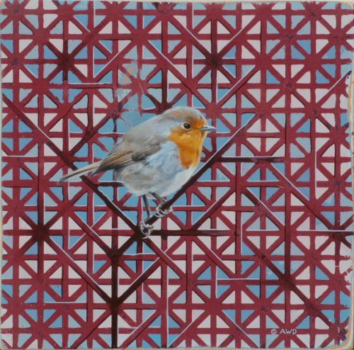 European Robin by Andrew Denman