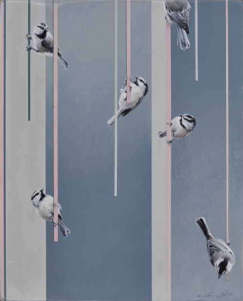 Chickadees by Andrew Denman