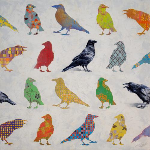 Ravens by Andrew Denman